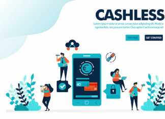 Graphic of Cashless payment